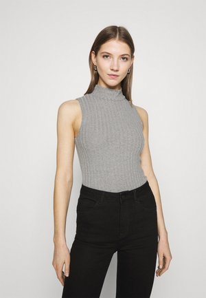 TARA TANK - Top - grey melange