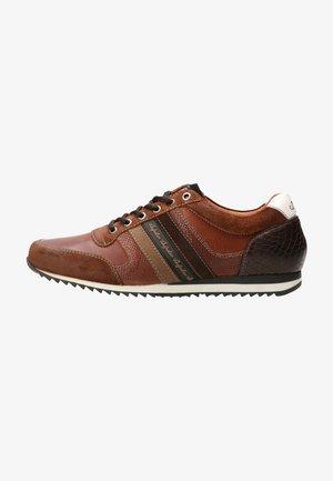 Sneakers laag - tan-combi
