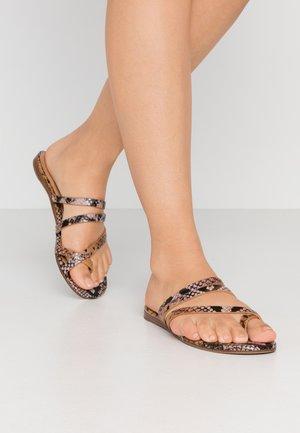 ERERAN - T-bar sandals - other pink