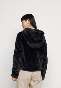 Noisy May Petite - NMLOMA JACKET - Zimní bunda - black - 2