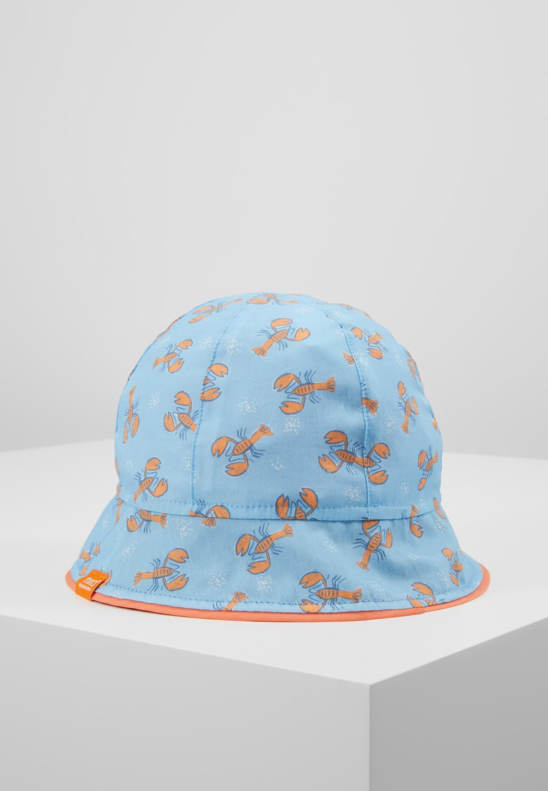 Maximo - MINI BOY FLAPPER - Hat - adria/orange