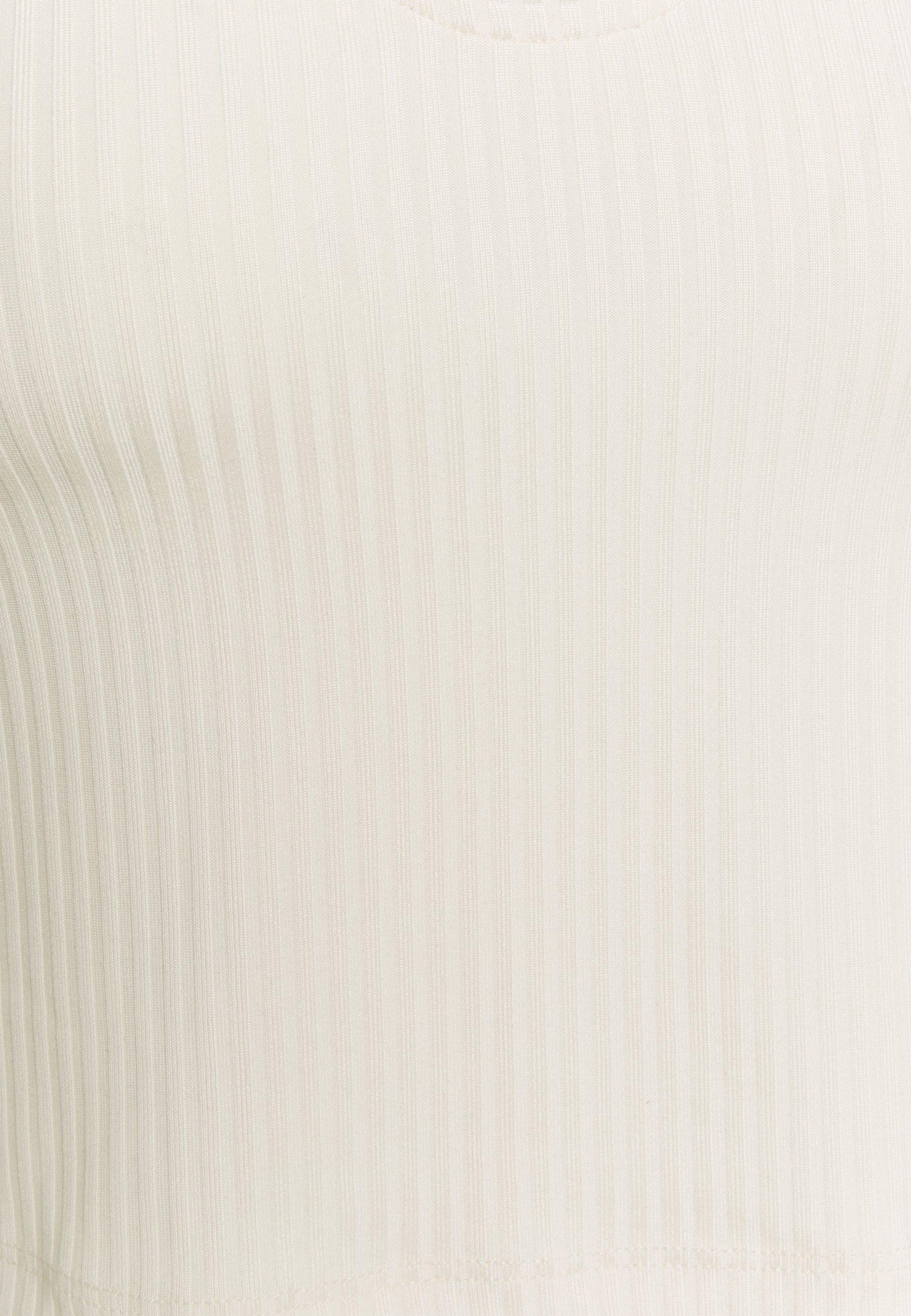 Pieces Pcmarika - Topper Whitecap Gray/offwhite