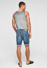 s.Oliver - Jeans Shorts - medium blue - 2