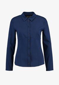 SPORTINA TECH SPANDY - Button-down blouse - navy