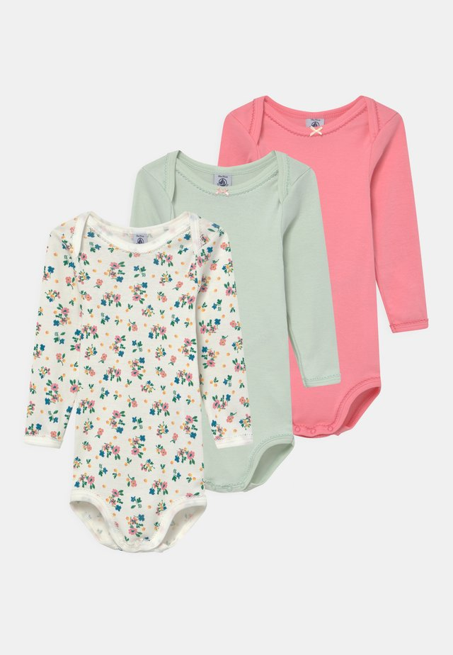 3 PACK - Body - pink/blue/white