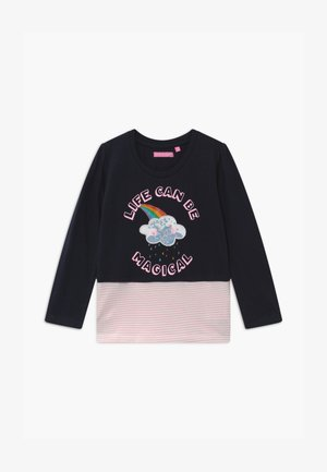 SMALL GIRLS - Langærmede T-shirts - navy blazer