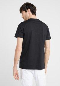 PS Paul Smith - SLIM FIT ZEBRA - T-shirt basic - black - 2
