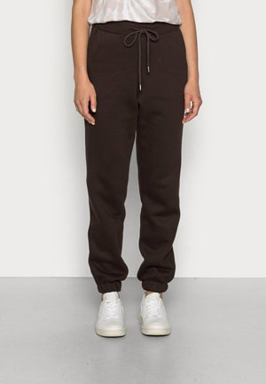 TROUSERS PERNILLE - Teplákové kalhoty - dark brown