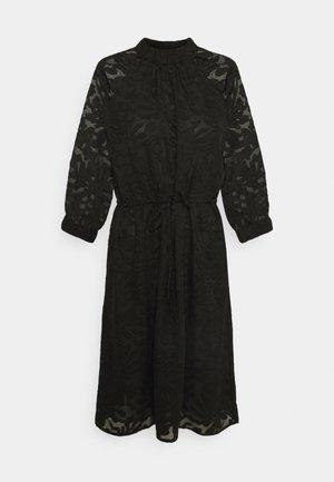 SLFREESE-DAMINA SHORT DRESS  - Denní šaty - black