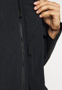 adidas Performance - TERREX XPLORIC RAIN - Outdoorjas - black/black - 3
