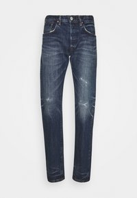 REGULAR TAPERED - Jeans a sigaretta - blue denim