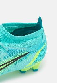 Nike Performance - MERCURIAL VAPOR 14 PRO FG - Kopačky lisovky - dynamic turqoise/lime glow - 5