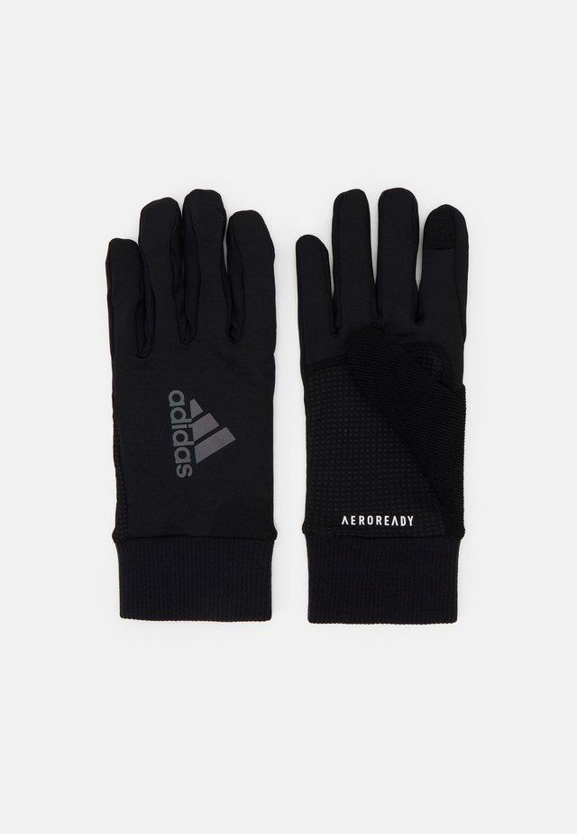 RUN GLOVES UNISEX - Handsker - black
