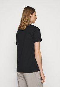 Les Deux - LENS - T-shirts print - black/white - 2