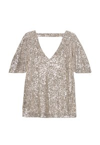 Wallis - SEQUIN SLEEVE - Bluse - champagne - 1
