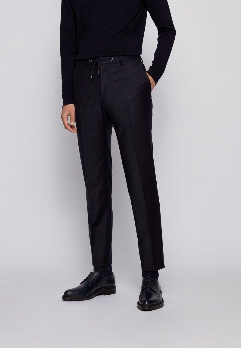 BOSS - BARDON - Suit trousers - dark blue