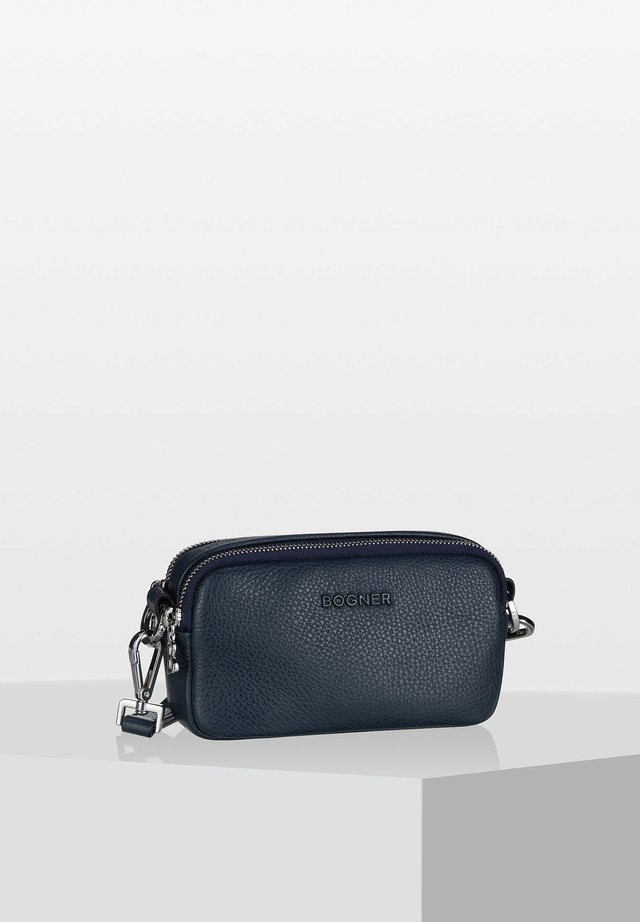 ANDERMATT AVY - Across body bag - dark blue