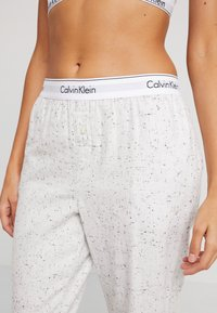 Calvin Klein Underwear - Pyjamasbukse - snow heather - 4