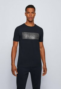 BOSS - TEE BATCH  Z - T-shirts print - dark blue - 0