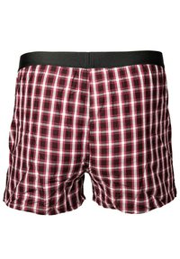 BOSS - 2PACK - Boxer shorts - dunkelrot - 4