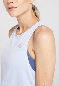 adidas Performance - TANK COOLER - Camiseta de deporte - blue - 4