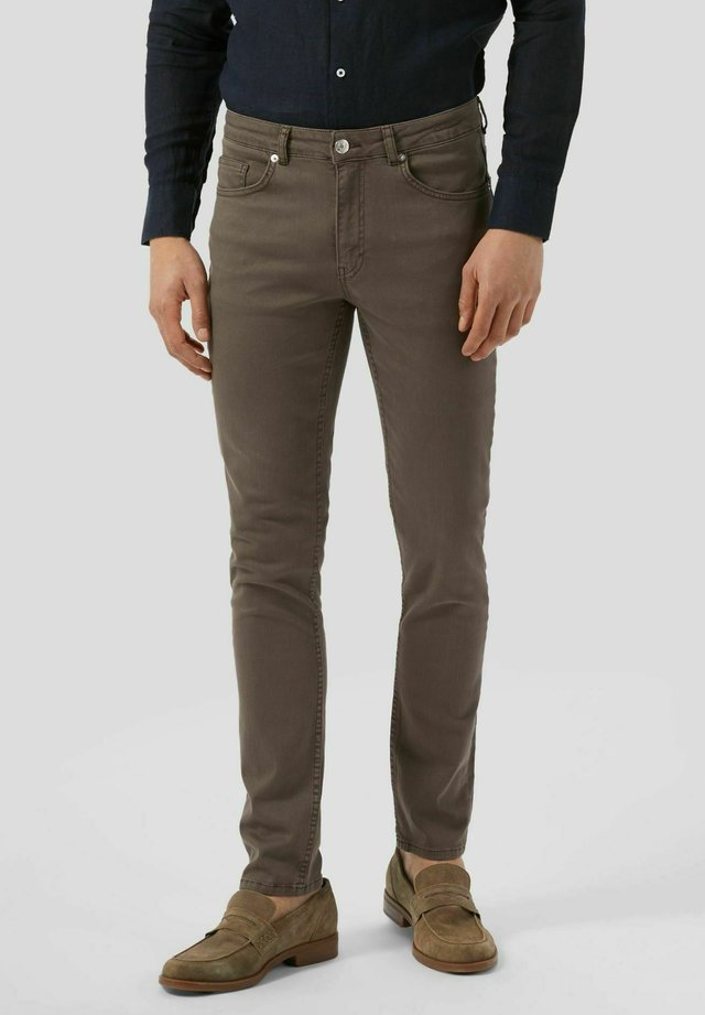 Jeans slim fit - moro