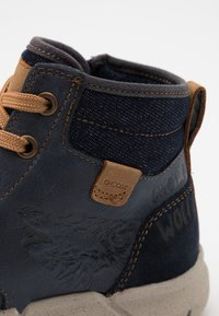 Geox - FLEXYPER BOY - Lace-up ankle boots - navy - 5