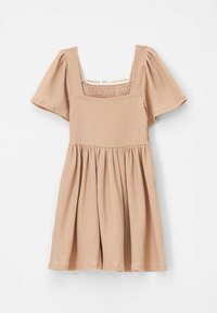 DeFacto - REGULAR FIT  - Jersey dress - brown - 1