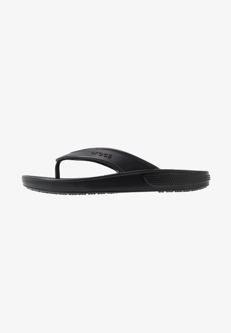 Crocs - CLASSIC FLIP  - Chanclas de dedo - black