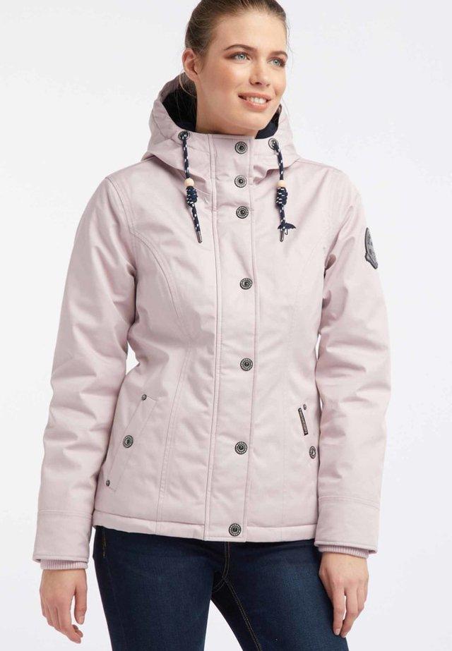 Vodotěsná bunda - light pink