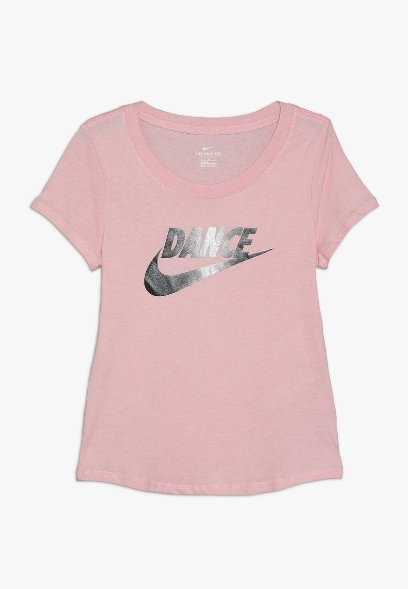 Nike Performance - TEE SCOOP DANCE - Print T-shirt - bleached coral
