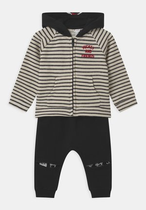 MICKEY SET  - Tracksuit - black/white
