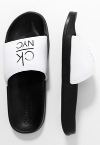 Calvin Klein Swimwear - SLIDE - Sandaler - classic white - 3