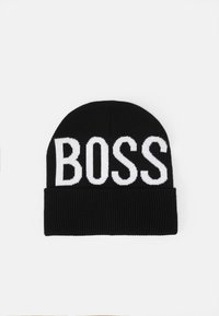 BOSS Kidswear - PULL ON HAT UNISEX - Muts - black - 0