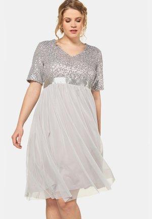 Cocktail dress / Party dress - lichtgrijs
