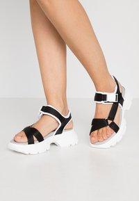 Esprit - HUNKY  - Platform sandals - black - 0