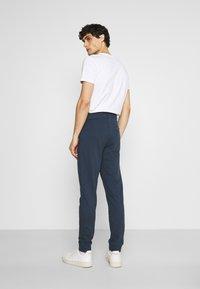 Springfield - TERRY - Pantaloni sportivi - medium blue - 2