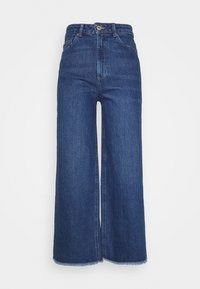 Marks & Spencer London - CROP - Relaxed fit jeans - blue denim - 0