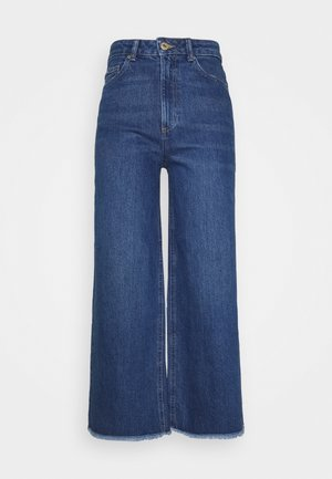 CROP - Jeans relaxed fit - blue denim