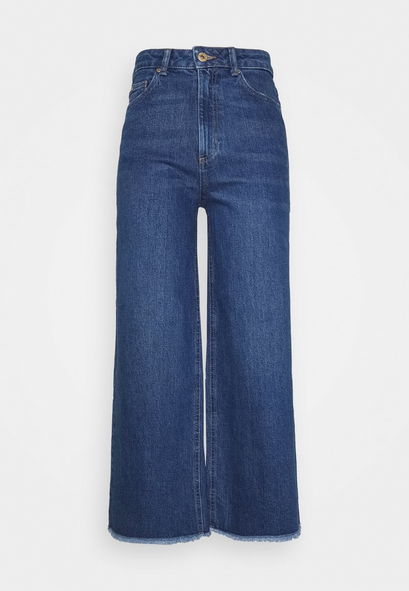 Marks & Spencer London - CROP - Relaxed fit jeans - blue denim