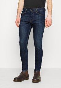 Diesel - D-LUSTER - Slim fit jeans - dark blue - 0