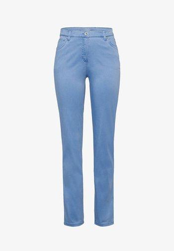 "BRAX DAMEN FIVE-POCKET-HOSE ""INA TOUCH"" - Jeans Slim Fit - blue (50)"