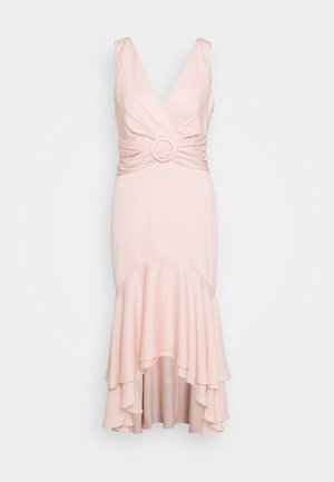 SIENNA BUCKLE MIDI DRESS - Day dress - blush