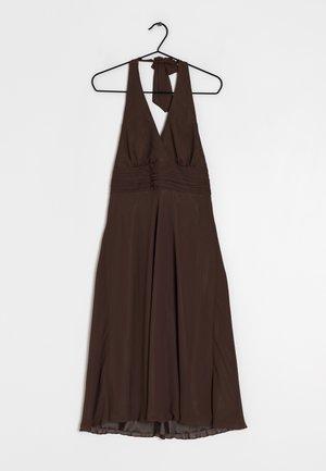 Day dress - brown