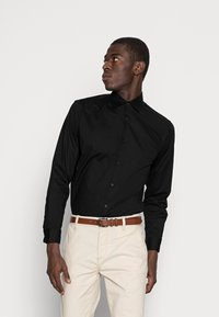 Selected Homme - SLHSLIMBROOKLYN - Camicia elegante - black - 0