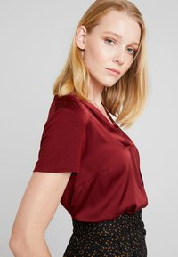 More & More - Blouse - wine red - 3
