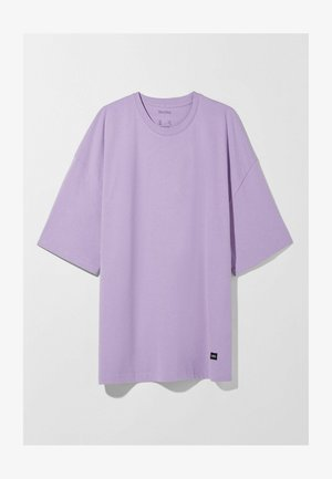 OVERSIZED - Jednoduché triko - mauve