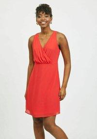 Vila - Cocktail dress / Party dress - mars red - 0
