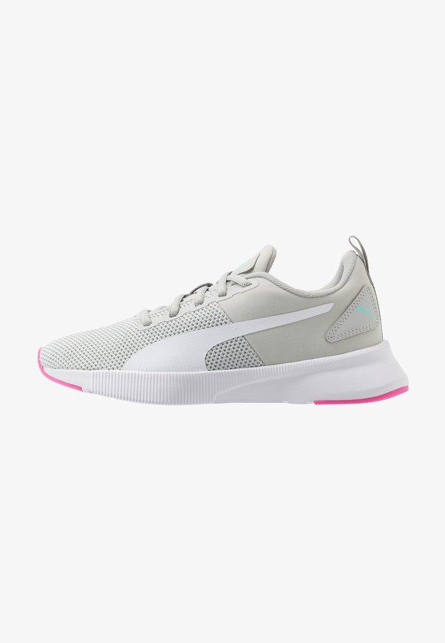 FLYER RUNNER SPORT - Neutral running shoes - grey violet/luminous pink