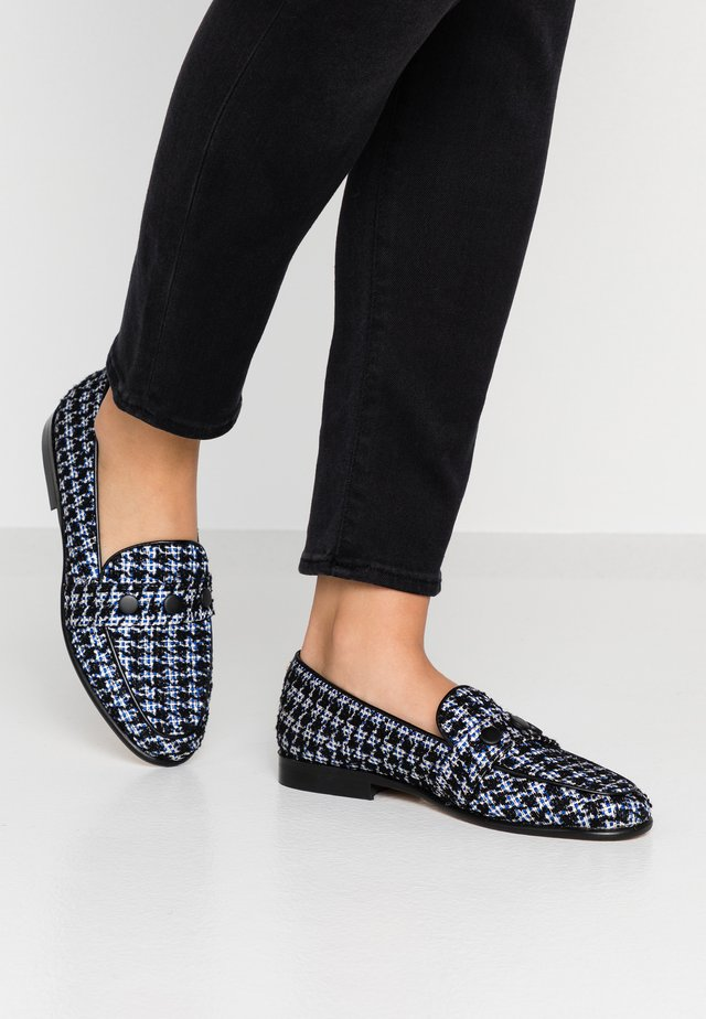 VANAK - Mocasines - bleu/noir